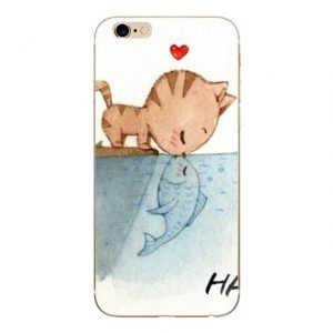 Cute Cat Phone Case For iPhone